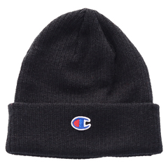Black beanie hat   champion