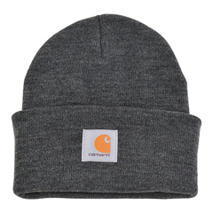 Carhartt heather gray front