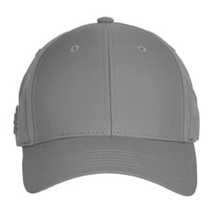 Adidas baseball hat   gray   front view