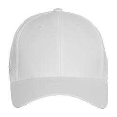 Adidas baseball hat   white   front view