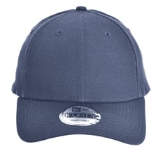 New era strapback structured cap   graphite   front view