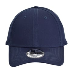 New era strapback structured cap   deep navy   front view