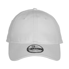 New era perforated performance hat   white   front view