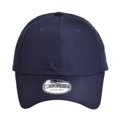 New era perforated performance hat   deep navy   front view