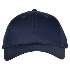 Mid profile baseball hat   navy  front view