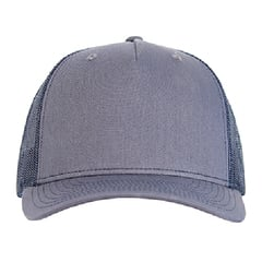 Richardson trucker hat   ombre blue navy   front view