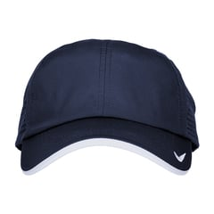 Nike athletic cap   navy  front view