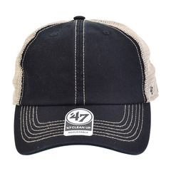 Trucker hat 47 black front