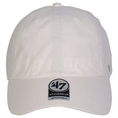 47 brand dad hat   white   front view