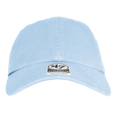 Columbia blue clean up cap   '47 brand   front view