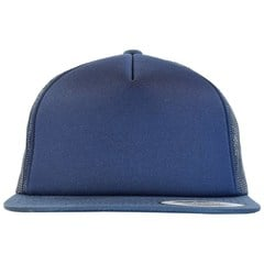Foam trucker snapback   navy   front view