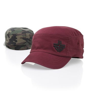 Embroidered military hats